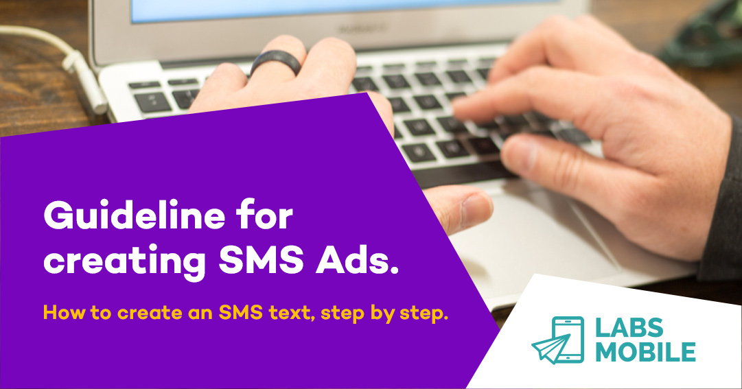 How to create an SMS text, step by step:  #ads #stepbystep