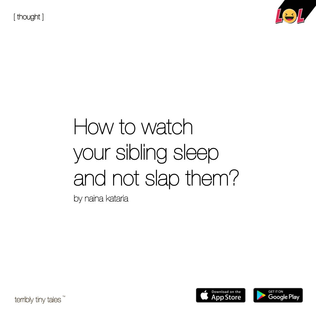 Your cheeks. So cute.  Naina Kataria writes a #Lol [ thought ]  #siblinglove pic.twitter.com/y6X9WgW8nQ