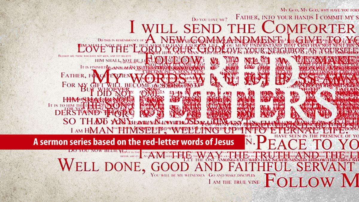 Sermon notes from this week's message @roswellstreetbc -  #reflection #dothebook #redletters #COVID19