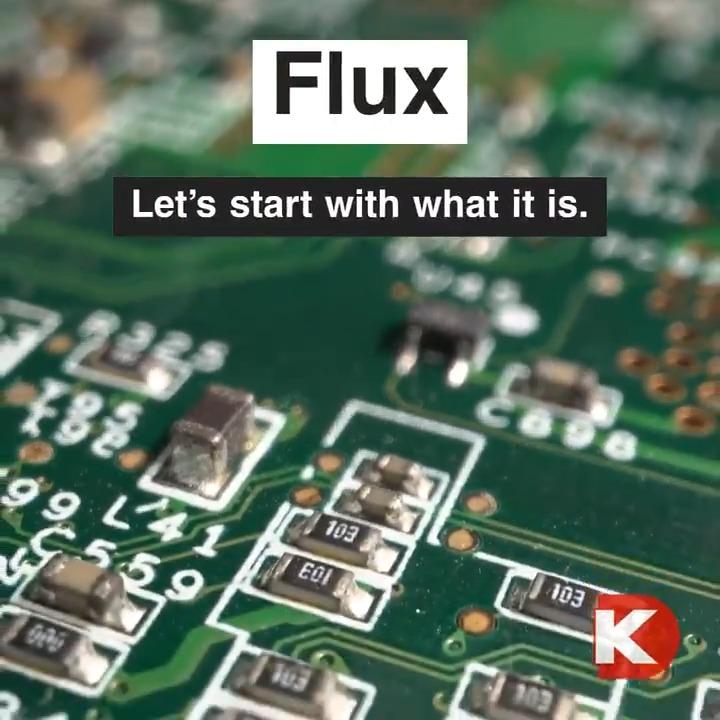 Electronics 101: Let's talk about Flux!  #electronics #education
