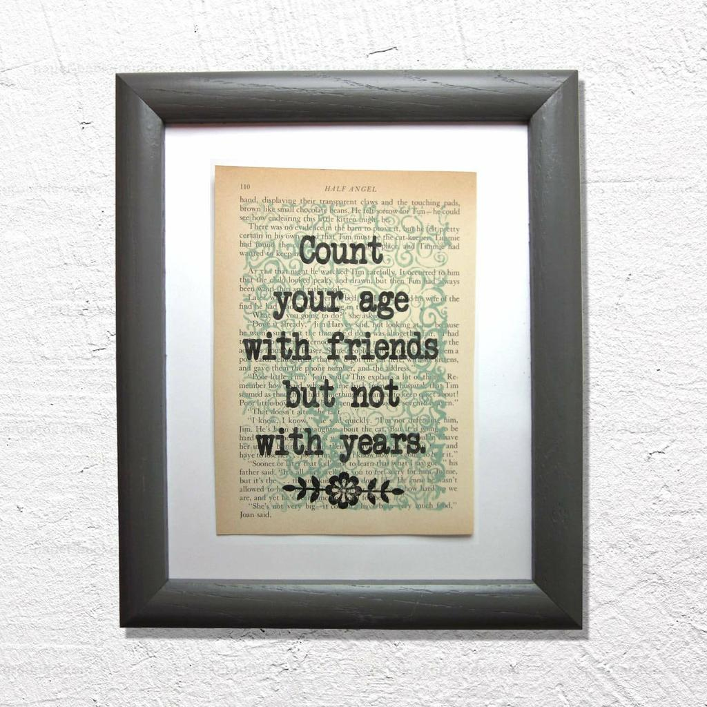 Count your age with friends but not with years   #friends #friendship #friendquotes #Monday #bookclub #bookish #bookworm #reading #etsy https://etsy.me/33XWGMhpic.twitter.com/ZImcd8BCyl