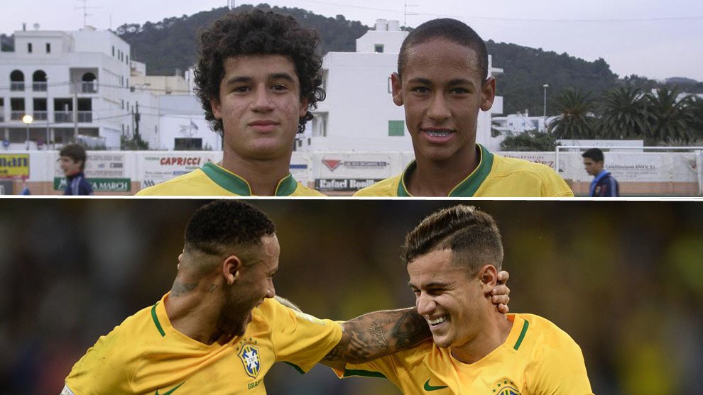 Neymar and Coutinho together.. that would be a dream scenario!
