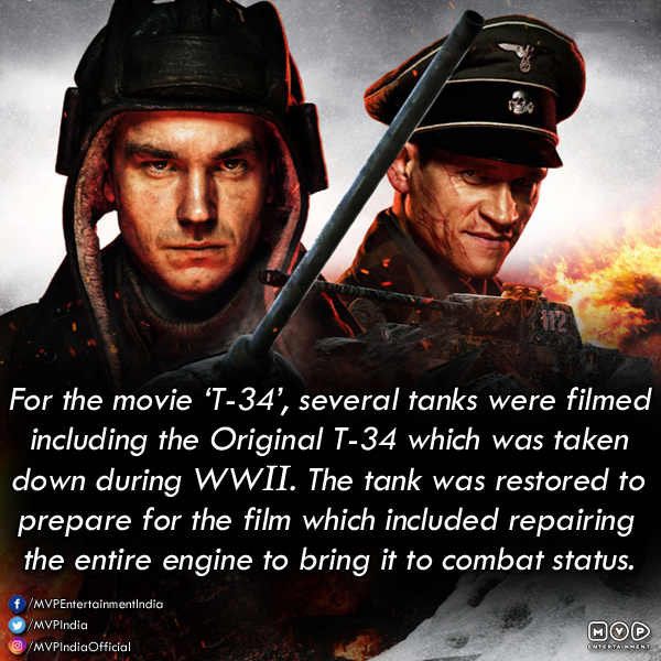 Did you know?  Don't forget to watch the exciting movie #T34 on #AmazonPrimeVideos right now. pic.twitter.com/RaJkVeywf1