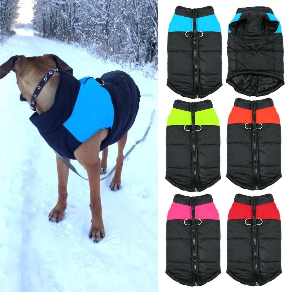 Fashion Waterproof Winter Dog's Vest #model #cool
