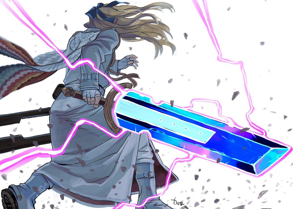 悪魔総選挙 1位 魔剣カリバーンカリバーンは、謎の台座に刺さった呪われた剣として、長い間ヴァチカン最深部に保管されていました。とあるご褒美にアーサーが欲しがり、契約して台座から引き抜いてから、ずっと彼の使い魔をしています。(加藤)