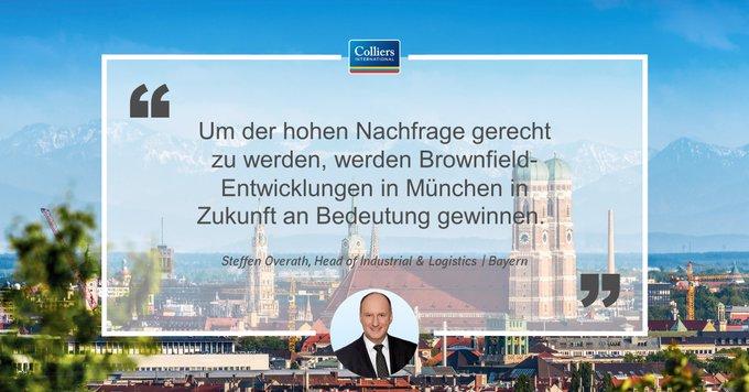Revitalisierungen als Mittel gegen die Flächenknappheit auf dem Münchner Industrie- und Logistikimmobilienmarkt:  t.co/XR2NmOqA6B
