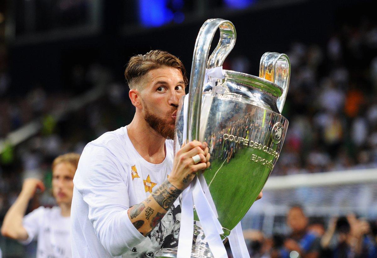 "UEFA Champions League on Twitter: ""⚪️ Sergio Ramos at Real Madrid: 🎽6⃣4⃣0⃣  ⚽️9⃣1⃣ 🏆2⃣1⃣ #UCL… """