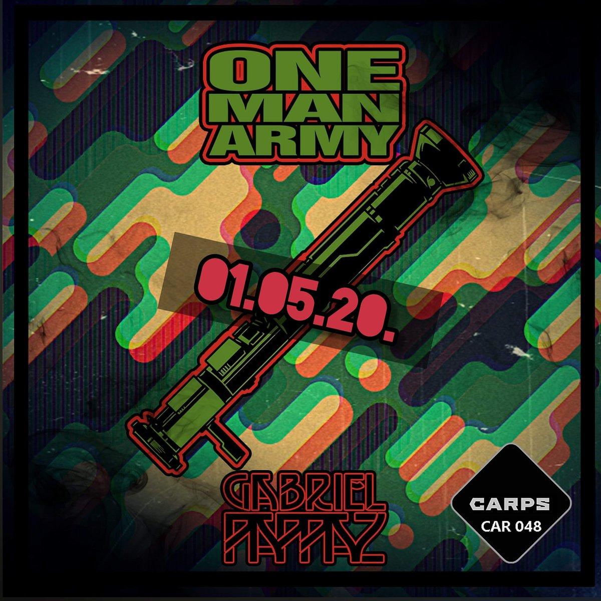 Release Artist:Gabriel Pappaz Release Title:One Man Army Catalogue Number: CAR048 Label: CARPS Release Type: Single  #2020 #techno #technomusic #technoproducer #rave #single #onemanarmy #acid #acidtechno #hardtechno #hardpic.twitter.com/w53QKYeTk5
