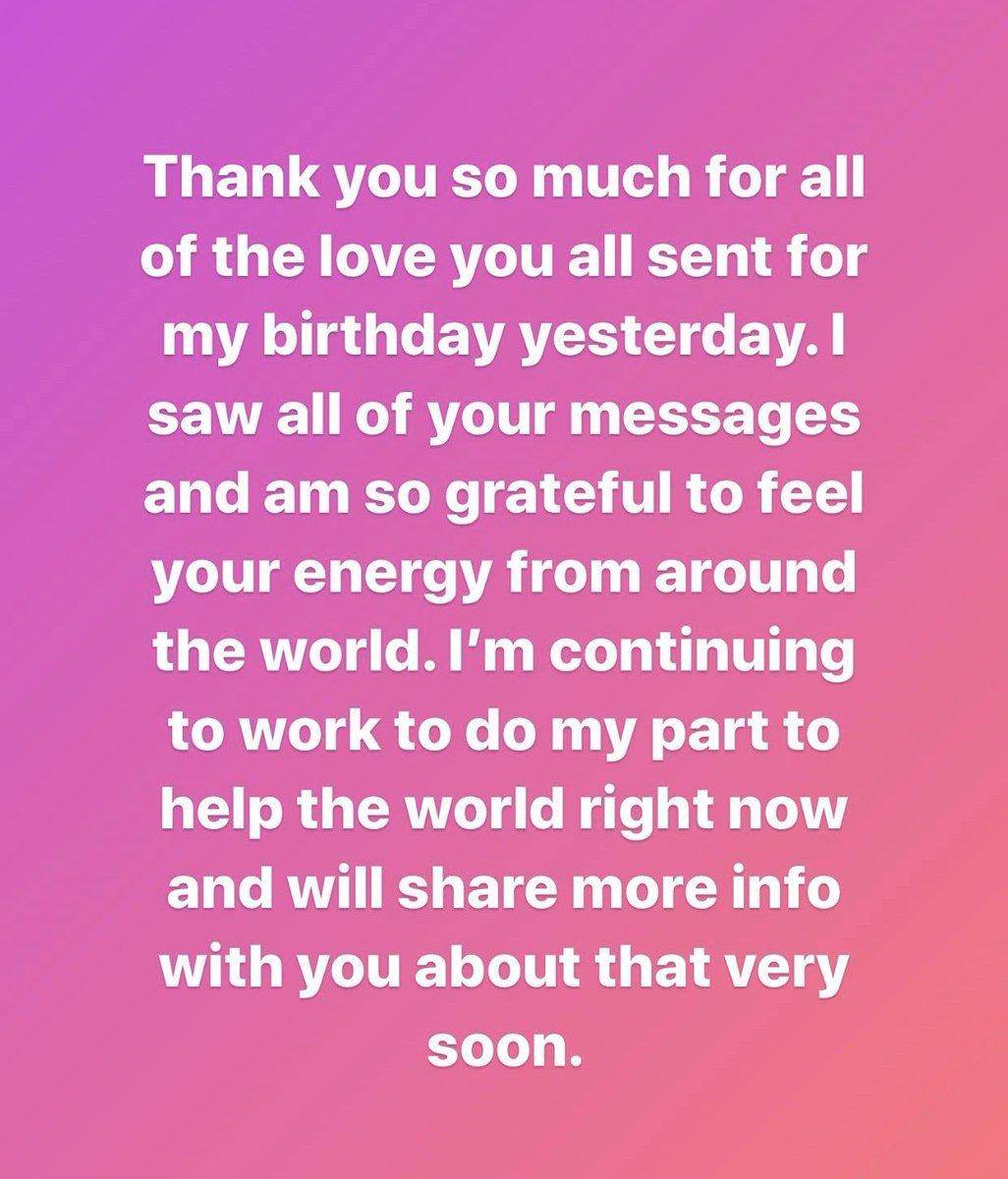 #NUEVO    Mensaje de Lady Gaga a sus fans a través de Instagram.