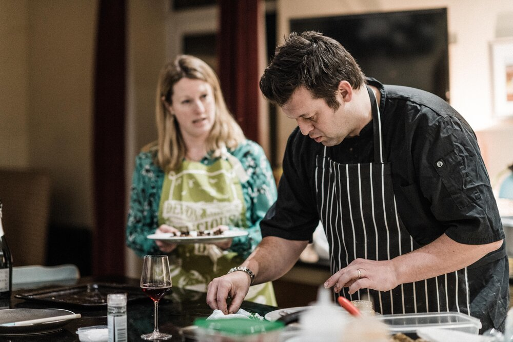 Brilliant to see our friends @highgrangedevon in the current edition of @ExeterLiving 📰 You can read all about Luke in the 'Meet the #Chef' feature on page 26:    We are looking forward to eating out again and sampling their beautiful #food soon 😋