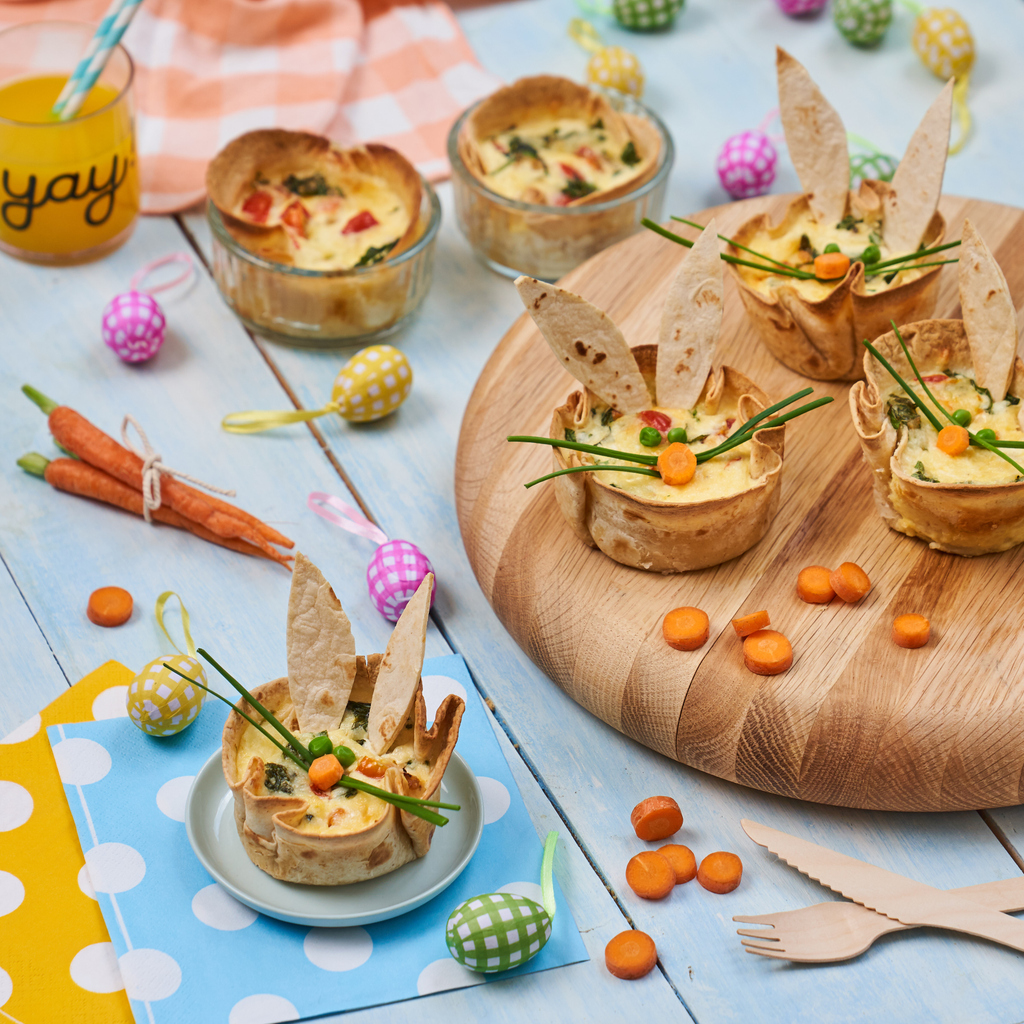 🐰 CHERRY TOMATO AND SPINACH QUICHES 🐰⁠ ⁠These mini egg, tomato and spinach tortilla cups are the perfect bite sized breakfast for kids and adults. Hop along to our website to see the recipe 👉 https://t.co/xN6zud36EB https://t.co/v8A3oDtESc