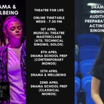 OUR FREE LOCKDOWN ONLINE PROGRAMME for 14-25 year olds is now LIVE. Our online consent form can be found via our website. https://t.co/fIsLewvXXd We will then email all participants a PRIVATE invite to our online Zoom sessions. Email enquiries@theatreforlife.co.uk