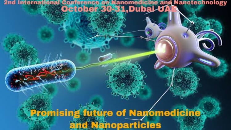 Promising Future of Nanomedicine and Nanoparticles...  2nd International Conference on Nanomedicine and Nanotechnology. October 30-31,2020 Dubai,UAE.  #Nanomedicinemeet2020  #nanoparticles  #Materialchemists #Nanoscientists #Dubai  https://nanomedicine.nanotechconferences.org/pic.twitter.com/688b1x3sKw