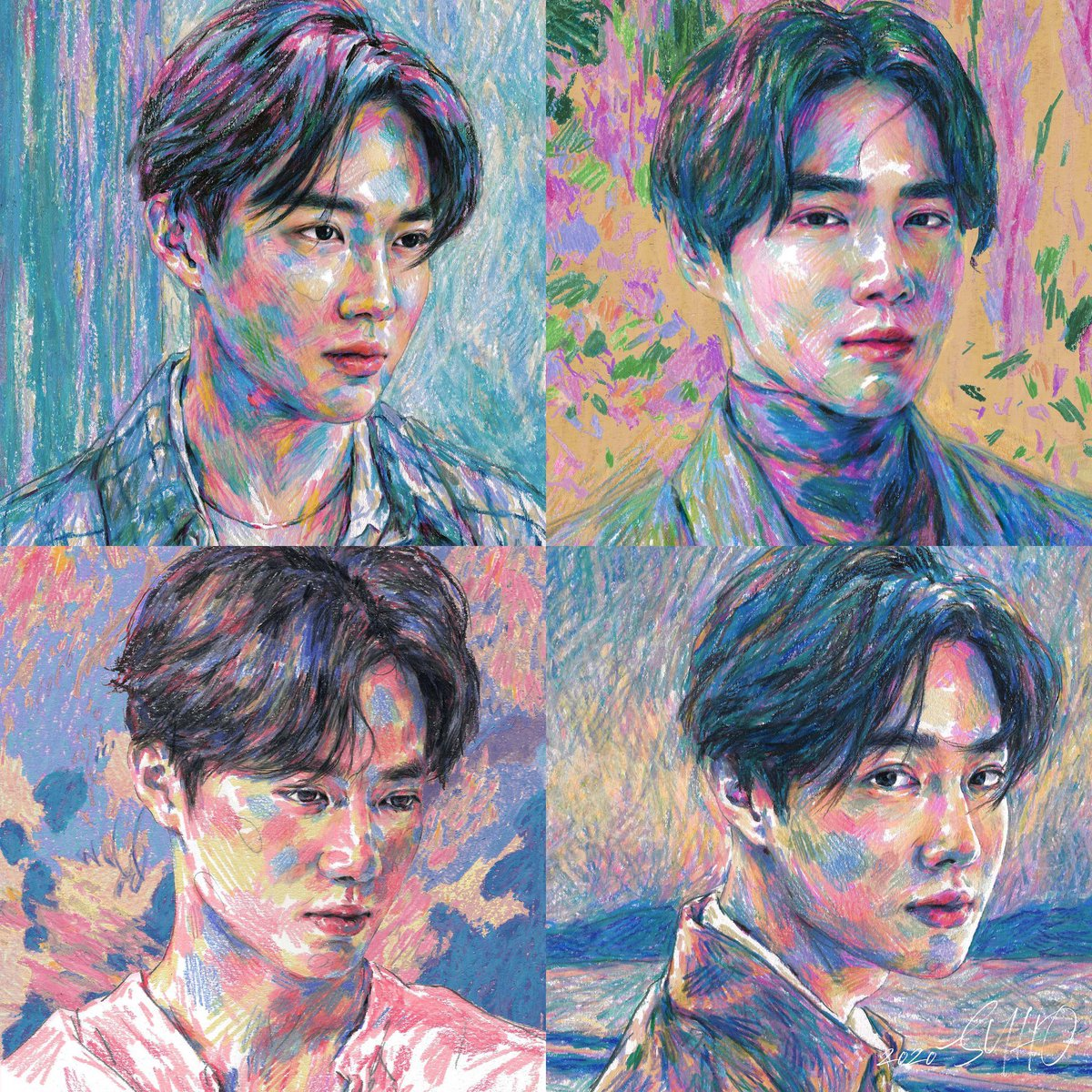 "👨🏻‍🎨 EXO's UK Fan Club 🖼 on Twitter: ""[🎶] SUHO '자화상 (Self ..."