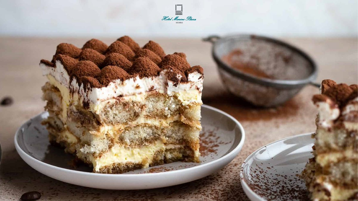 Made in 60 minutes, gone in 60 seconds; this Kahlua Tiramisu is something that you definitely need to try. #HotelMarinePlaza in #Sin. #ALuxuriousExperience . . . . . #Tiramisu #Dessert #Tiramis #Chocolate #Sweet #Coffee #Delicious #Mumbai #Marinedrive #Churchgate #TiramisuCake