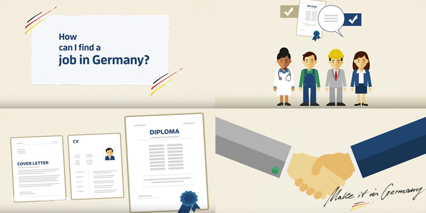 #MondayMotivation: Do you want to #work in #Germany? You can start looking for a job now. Watch our video about #job hunting & get helpful tips: