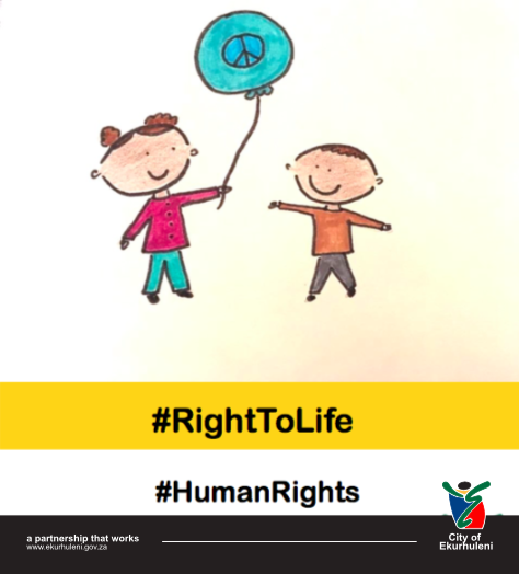 #Life #HumanRightsMonth #CoE Everyone has a right to life and nobody, not even the state, has the right to take a life. This means that no person can be sentenced to death by the courts.