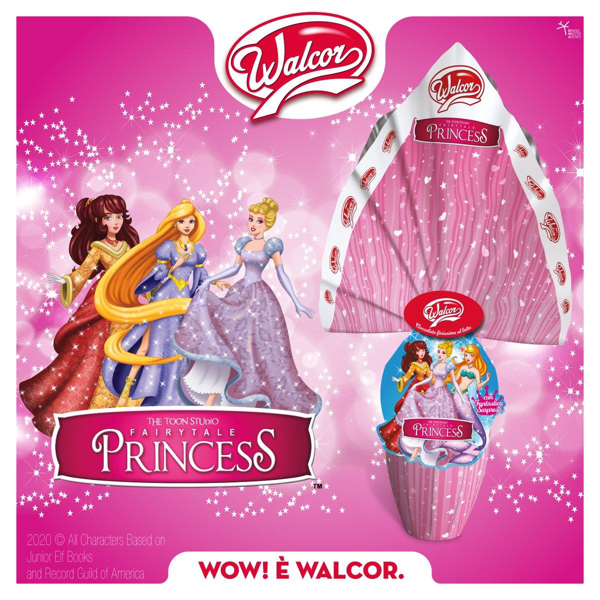 Scegli l'uovo al cioccolato al latte #Walcor #FairtailPrincess👑e regala una #Pasqua magica a tutte le piccole principesse!😊❤️🍫 #uovodipasqua #princess #surprise #chocolate
