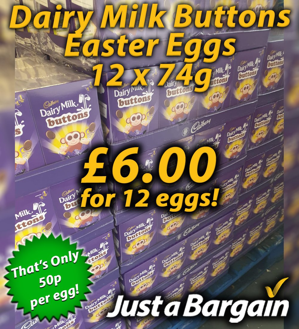 Packs of 12 Easter Eggs! When It's Gone, It's Gone! 😲  Open 9-5 Monday - Friday & 9-2 Saturday ⏰  Brookfield Drive, Aintree, Liverpool, L9 7AJ 📍  #easter #chocolate #bargain #bulkbuying #liverpool