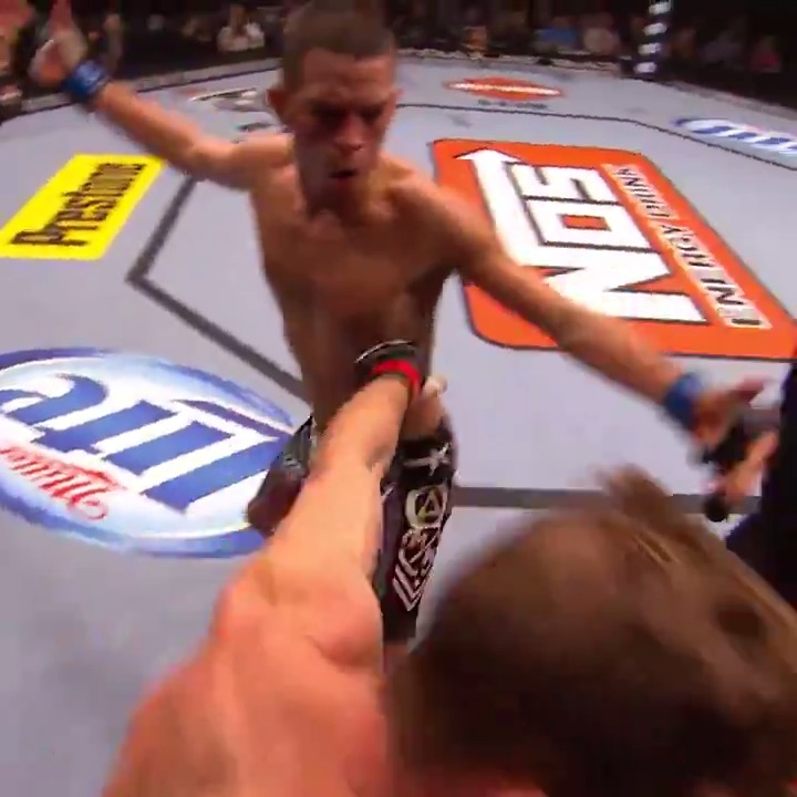 Start your Monday with a @NateDiaz209 slap! 👏 https://t.co/SCNcqJh5h6