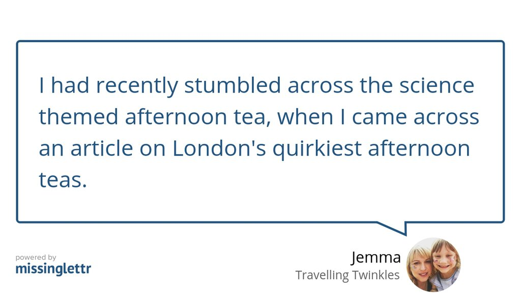 """Last year, I wrote an article: """"Science Afternoon Tea at The Ampersand Hotel, London""""  #Daysout #Chocolate #London #familydaysout #Afternoontea #Tea"""