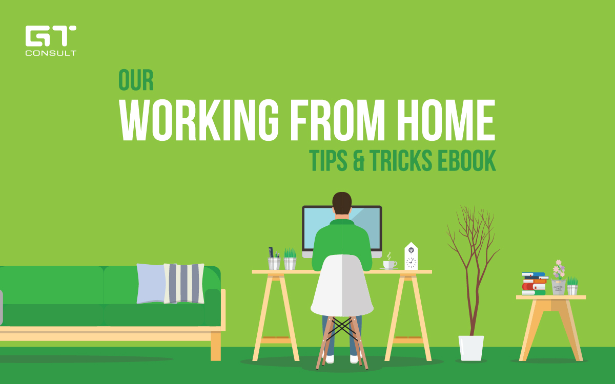 We've just released our Working From Home Tips & Tricks eBook to help individuals who have recently decided to work from home. Get it now!  #gtconsult #ebook #wfh #work #from #home #covid19 #coronavirus