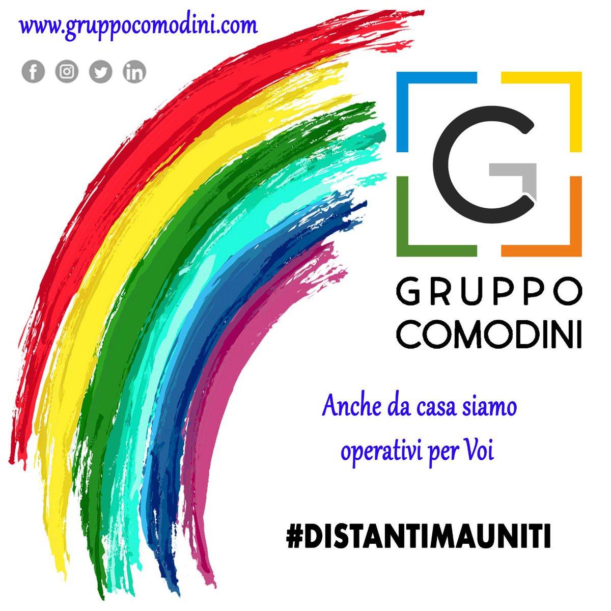 Rimaniamo operativi #distantimauniti #corona #virus #smartworking #home #office #work #follow #gruppocomodini