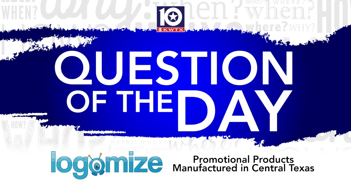 Your @Logomize_It Question of the Day is: Only some of us do this when we wake up in the morning. What is it?