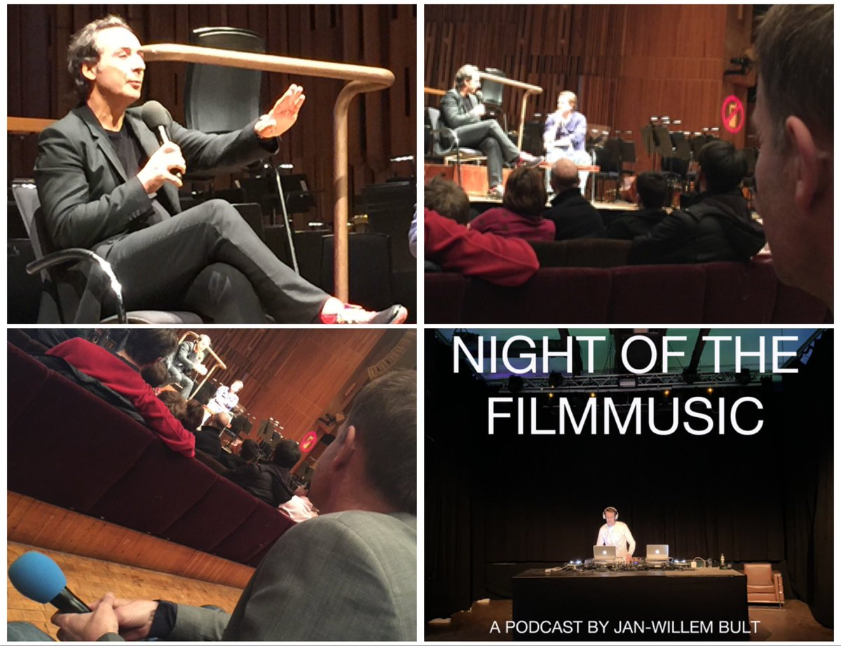 Night of the Filmmusic:  #Podcast #2 is about a trilogy of scores that French composer Alexandre Desplat made for US-Arab #stories. I asked him what connects the 3.    #score #soudtrack #filmmusic #music #filmmuziek #muziek #hollywood #cinema #movie