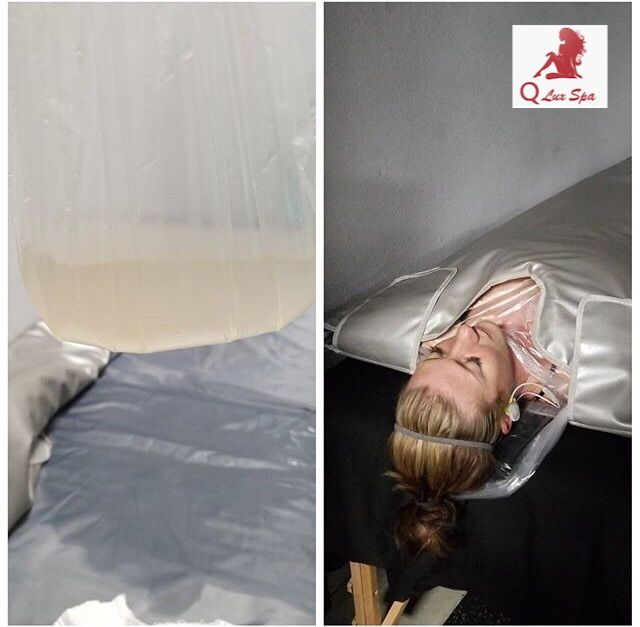 That dirty looking water is the toxins that were removed from her body using the sauna blanket. Available @QLuxSpa. #qluxspa #saunablanket #purify #body #cleanse #melt #amazing #healthy #fast #results #enjoy #benefits #loseweight #remove #toxins #lookbetter #feelbetter