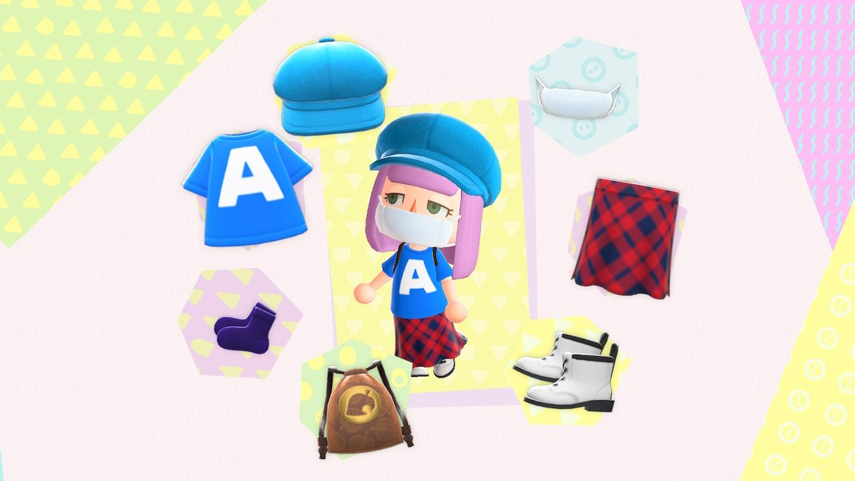 #OOTD brought to you by 2020 fashion!   #AnimalCrossing #ACNH #ACNewHorizons