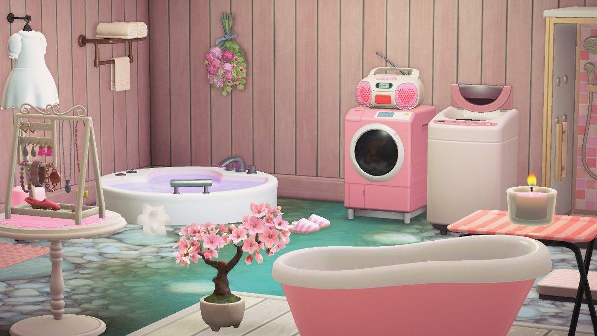 Celeste On Twitter Bathroom Animalcrossing Acnh
