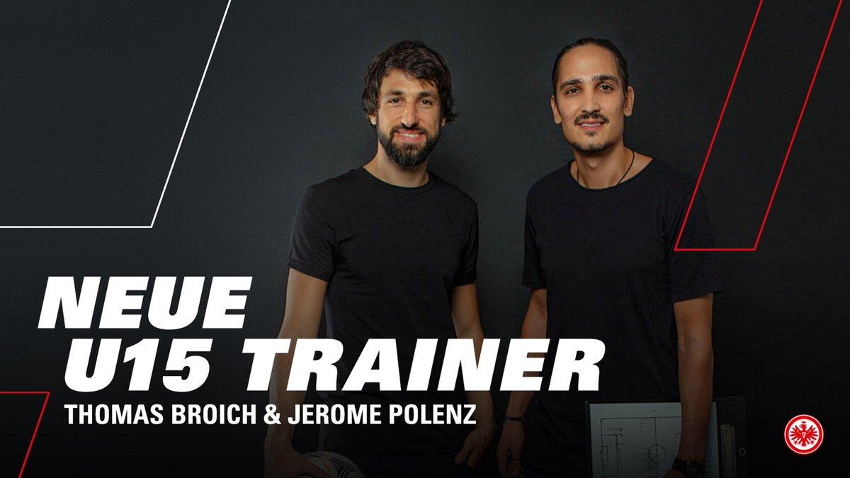 Gute Nachrichten aus dem @eintracht_lz: Die Eintracht kann ab der Saison 2020/21 auf das Trainerteam Thomas Broich und @JeromePolenz6 bauen  Die beiden ehemaligen @Bundesliga_DE-Profis werden ab Sommer die #sgeU15 trainieren #SGEpic.twitter.com/nPVuwYfTXK