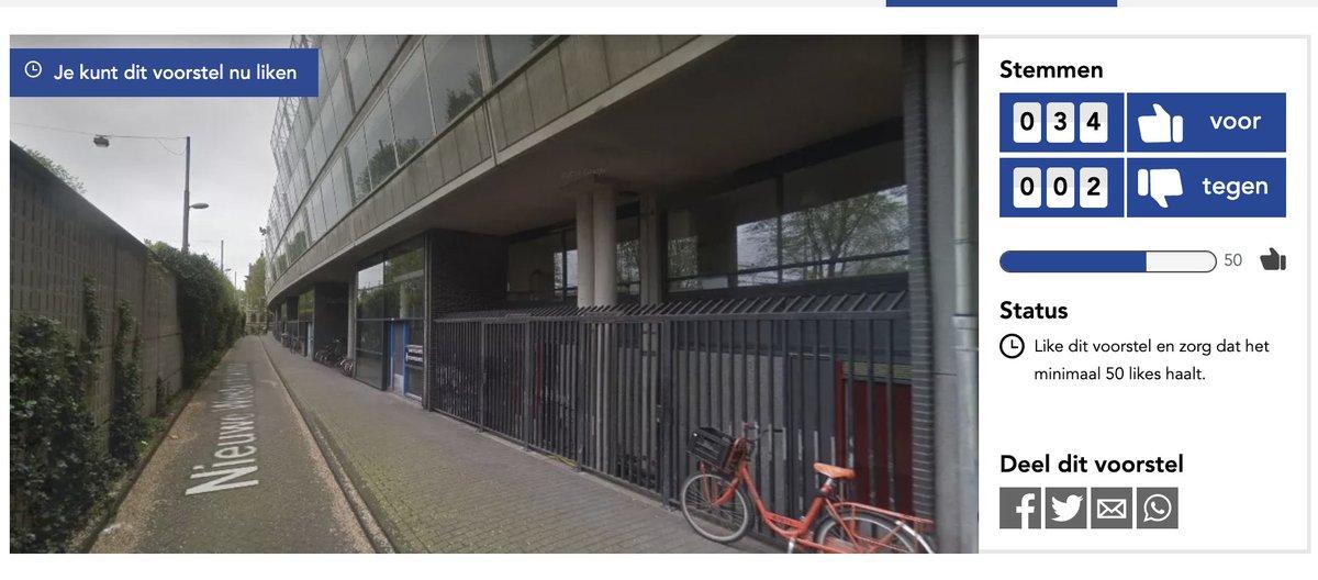 Ik zoek steun voor Kyra's plan voor het aanbrengen van een LCD  lichtkunstwerk, dat door bewoners gestuurd kan worden, langs de (vooral 's avonds) onveilige zijde van de flat.   We hebben nog 20 like nodig. CAN YOU LIKE US? PLEASE  kost je letterlijk 1s.   https://centrumbegroot.amsterdam.nl/plan/15251pic.twitter.com/onu9rLuuPu