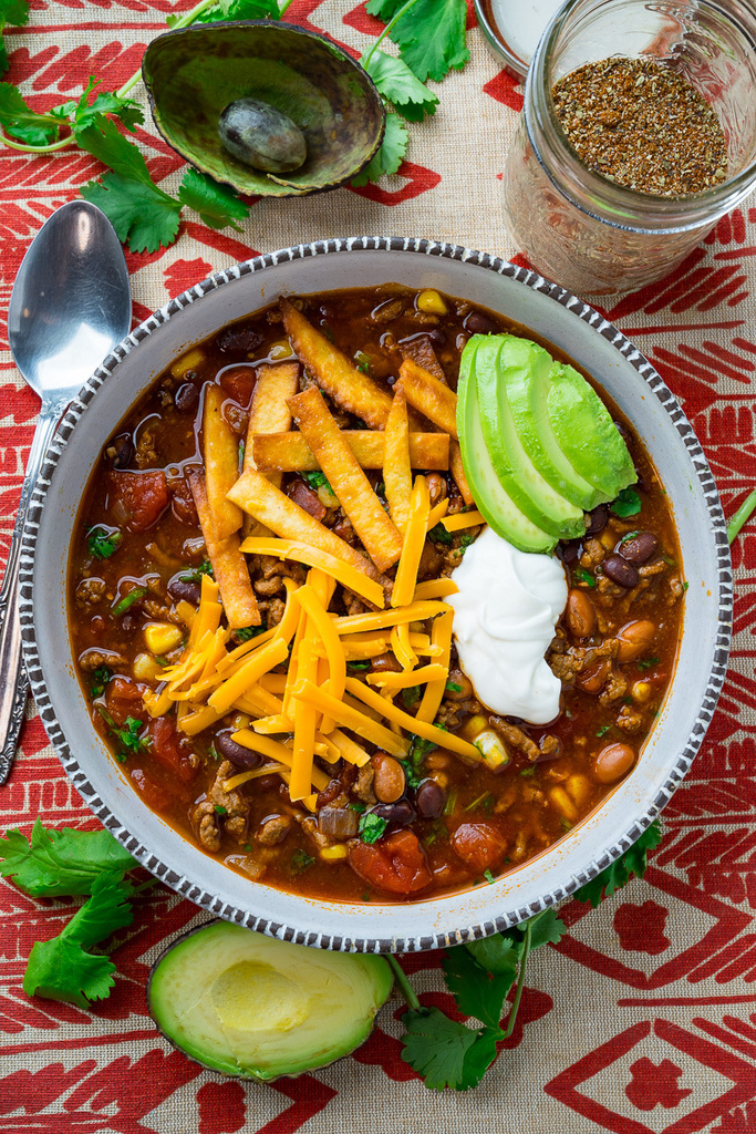 Try this: Taco Soup  #cooking #recipe