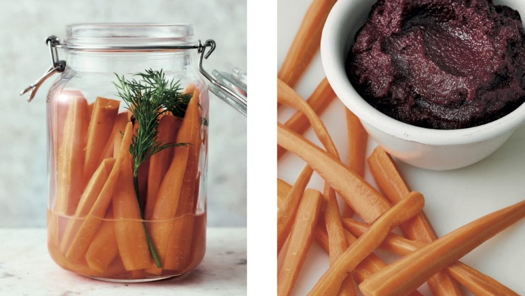 Looking for a fresh way to serve carrots? Make a gut-friendly snack with our fermented carrots #recipe