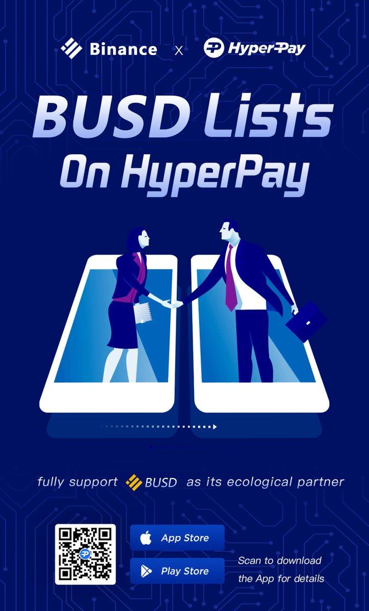 Tweet by @Hyperpay_tech