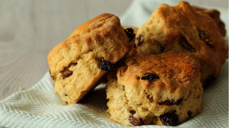 Simple Fruit Scones:  #recipe #baking