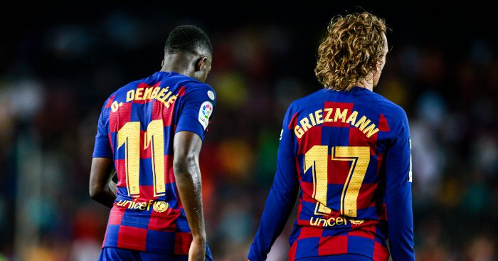 Dembele deserves to play with his best friend, Griezmann. The fans deserves this duo! I believe the chemistry will be insane. Give it a chance.