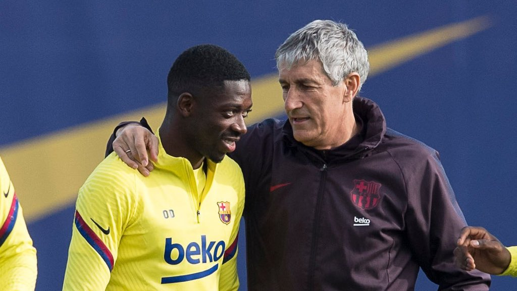 Don't forget that Dembele was managed by Valverde. Things will be way different under Setien and Eder Sarabia. Our coach absolutely adores Dembele. That is very crucial to his development as a player 👏