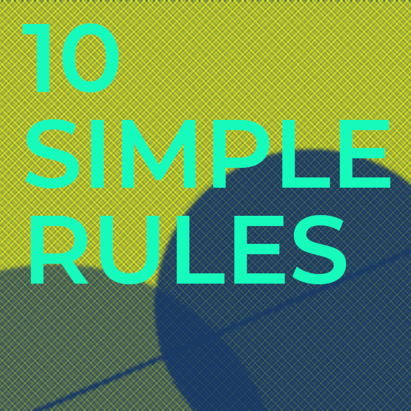 """New #10SR from Arnal and colleagues: """"Ten Simple Rules for organizing a non–real-time web conference"""" - read it here! https://t.co/mrKgkcfRuM https://t.co/p34sanEav9"""