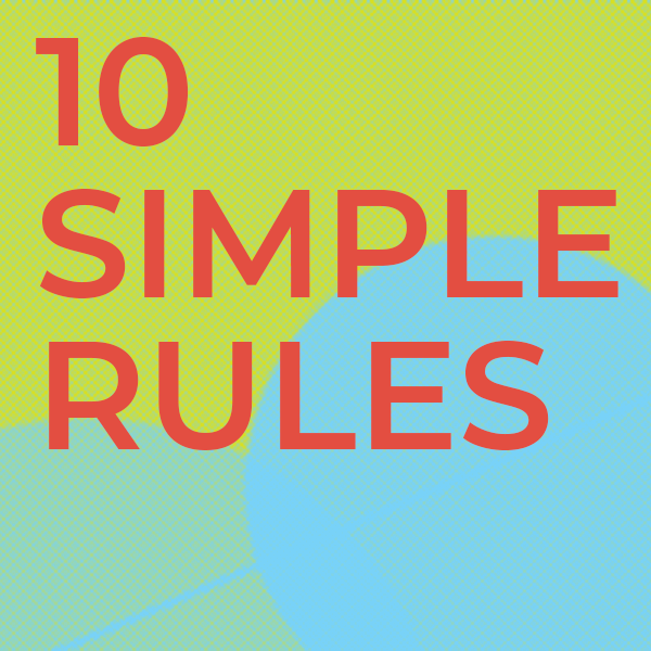 """New #10SR from Arnal and colleagues: """"Ten Simple Rules for organizing a non–real-time web conference"""" - read it here! https://t.co/mrKgkcxsTm https://t.co/4JrK1FTw7x"""