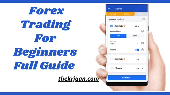 Forex Trading For Beginners Full Guide