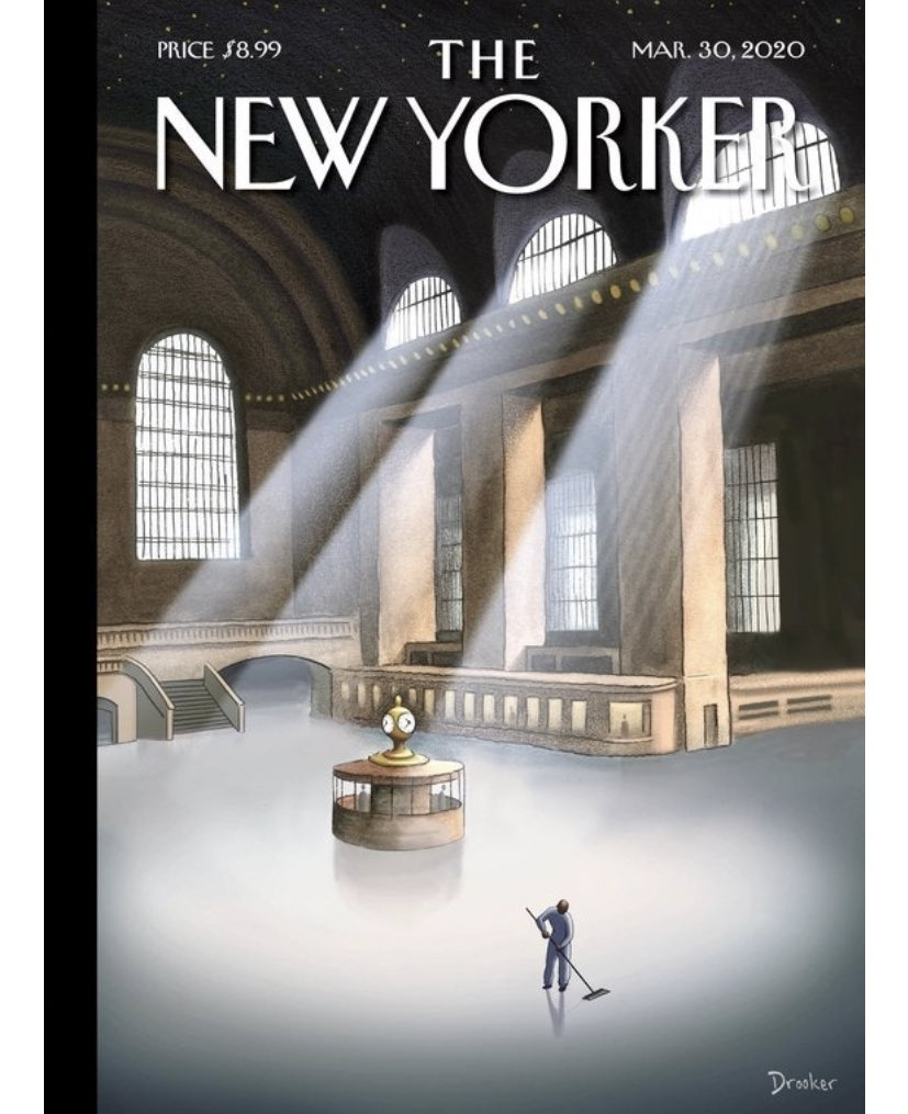 What a moving New Yorker cover.