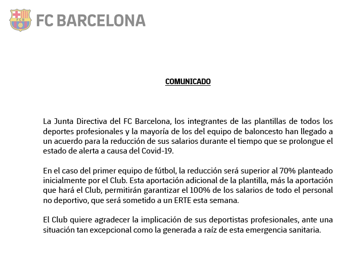 FC Barcelona (desde 🏠) (@FCBarcelona_es) on Twitter photo 30/03/2020 11:53:38