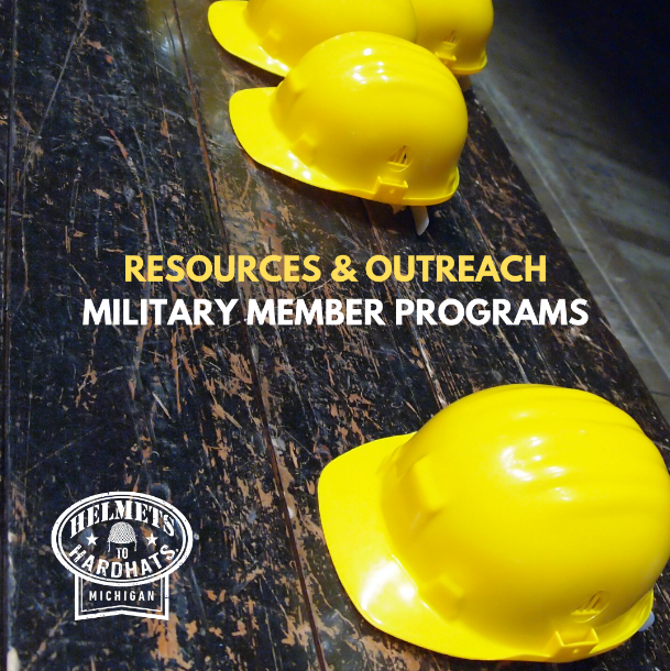 MI Helmets to Hardhats - Construction careers and skilled training for military veterans. Learn more about our resources for vets. http://www.mihelmetstohardhats.org #construction #careers #skilledtraining #military #vetspic.twitter.com/zXMikNaTmt