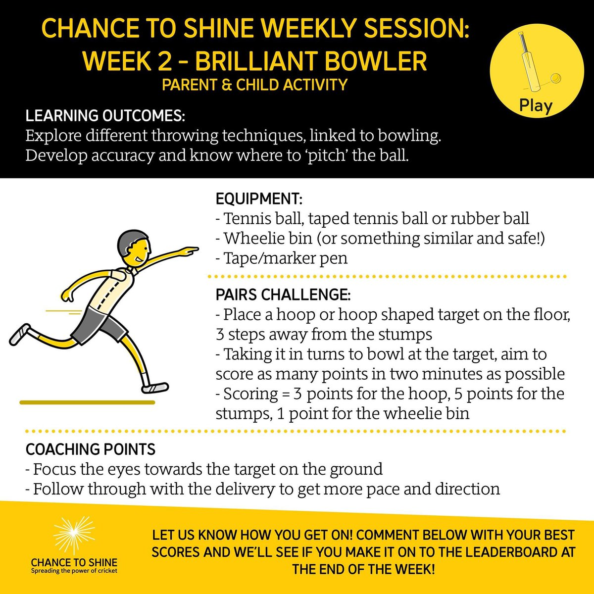 test Twitter Media - Week 2 Challenges – keeping kids active at home & at school🏏  Brilliant, free & key stage specific resources on their Schools Portal + weekly challenges for teachers/parents to help children stay active  Please spread the word to teachers/parents😃  🔗 https://t.co/6IDNR44Kvu https://t.co/jARJy3DLhH