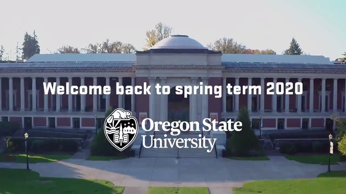 Image for the Tweet beginning: Welcome to spring term #BeaverNation. A