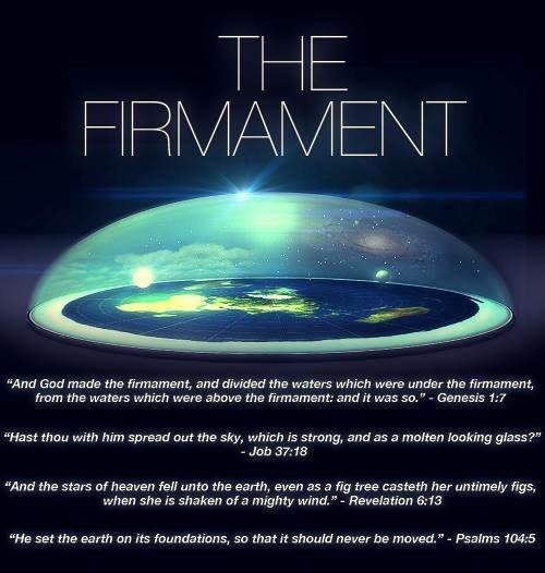 Flat operation earth fishbowl NASA'S TRILLION