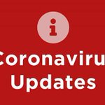 Image for the Tweet beginning: Coronavirus Update: Please visit our